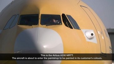 A330 MRTT MMF Painting Process