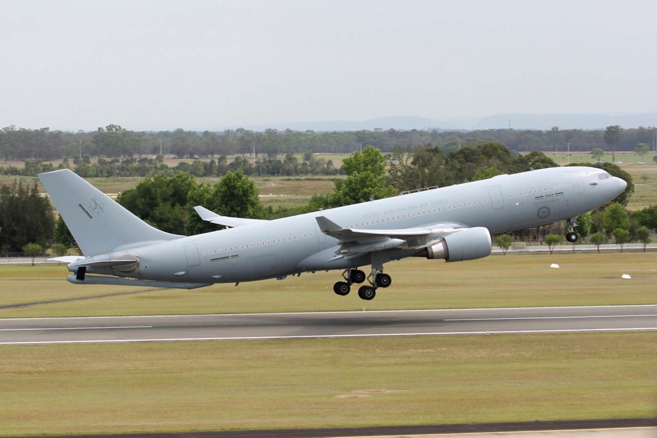 Australia's A330 Multi Role Tanker Transport – which is designated the KC-30A in service with the Royal Australian Air Force – has received initial operating capability (IOC) certification, which was announced 26 February 2013 at the Australian International Airshow