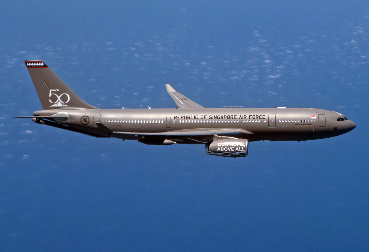 A330MRTT Republic of Singapore Air Force