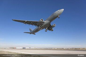 First Flight A330 MRTT Royal Air Force