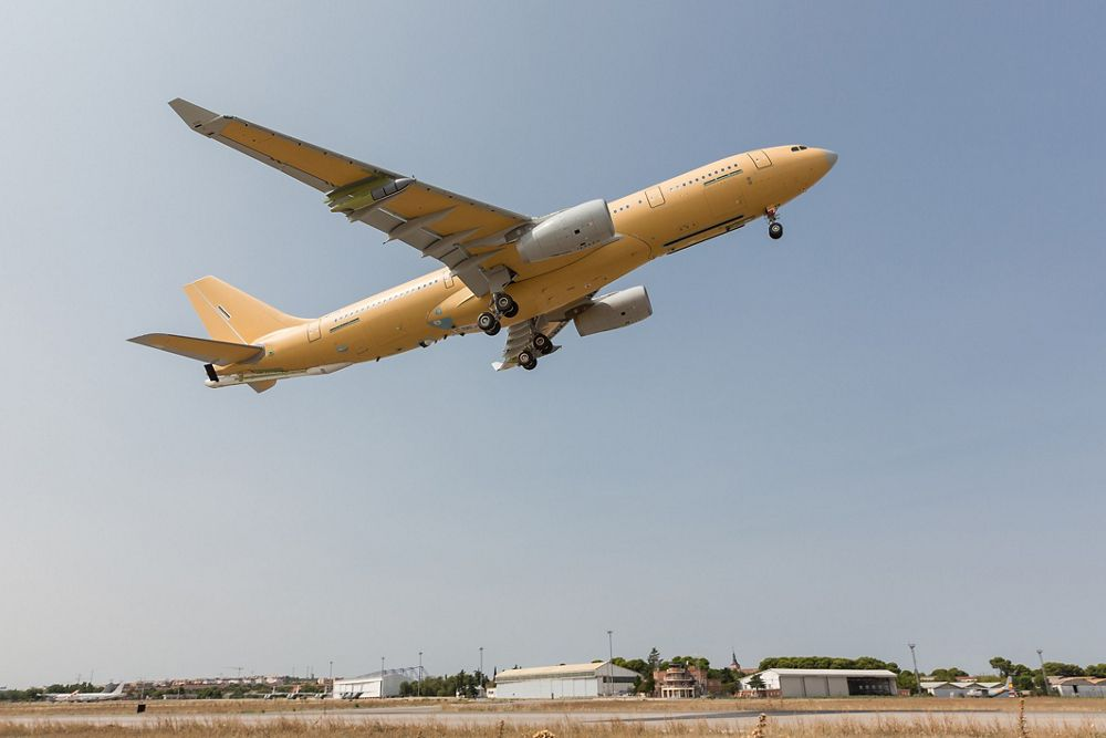A330 MRTT French Air Force First Flight