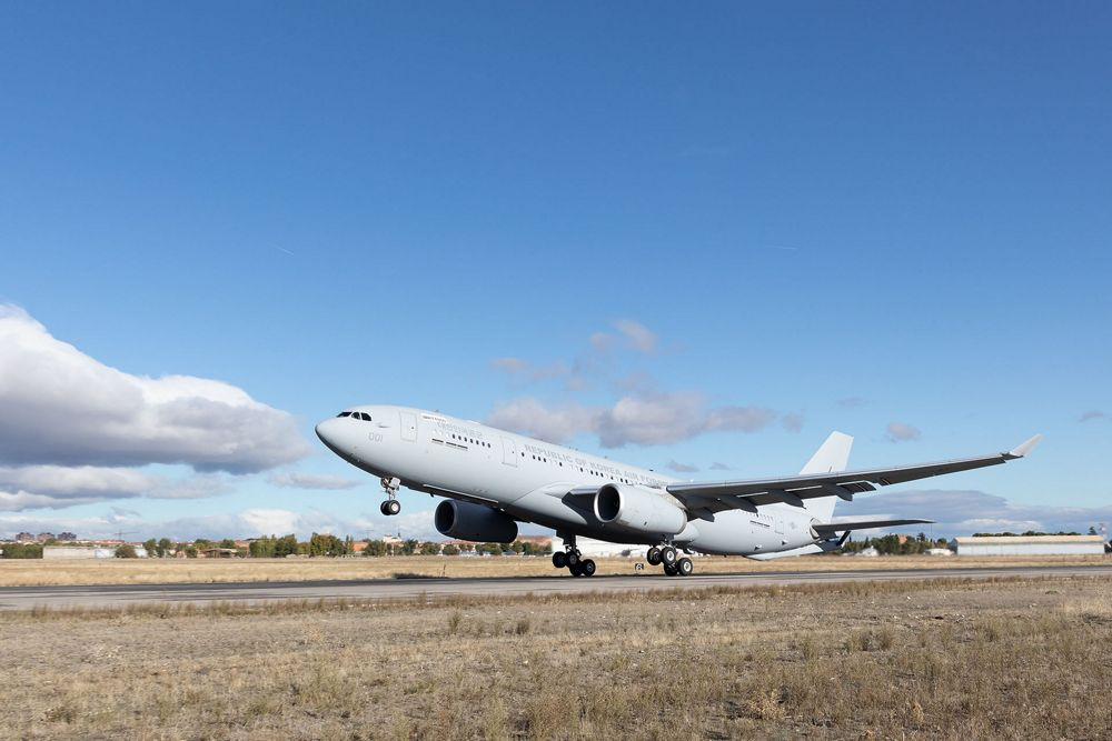 First South Korean A330 MRTT lands in Busan for acceptance tests