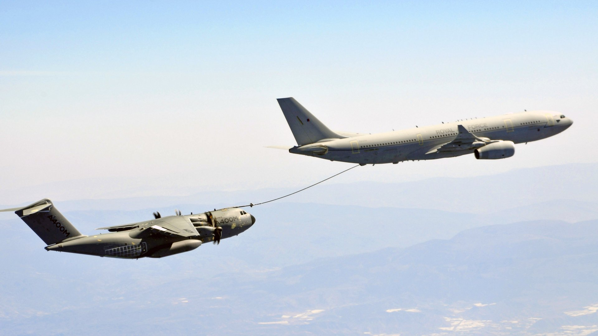 The Spanish National Institute for Aerospace Technology (INTA) has granted the Voyager Air-to-Air Refuelling (AAR) clearance for the A400M using the centreline hose and drogue system, known as the Fuselage Refuelling Unit (FRU).