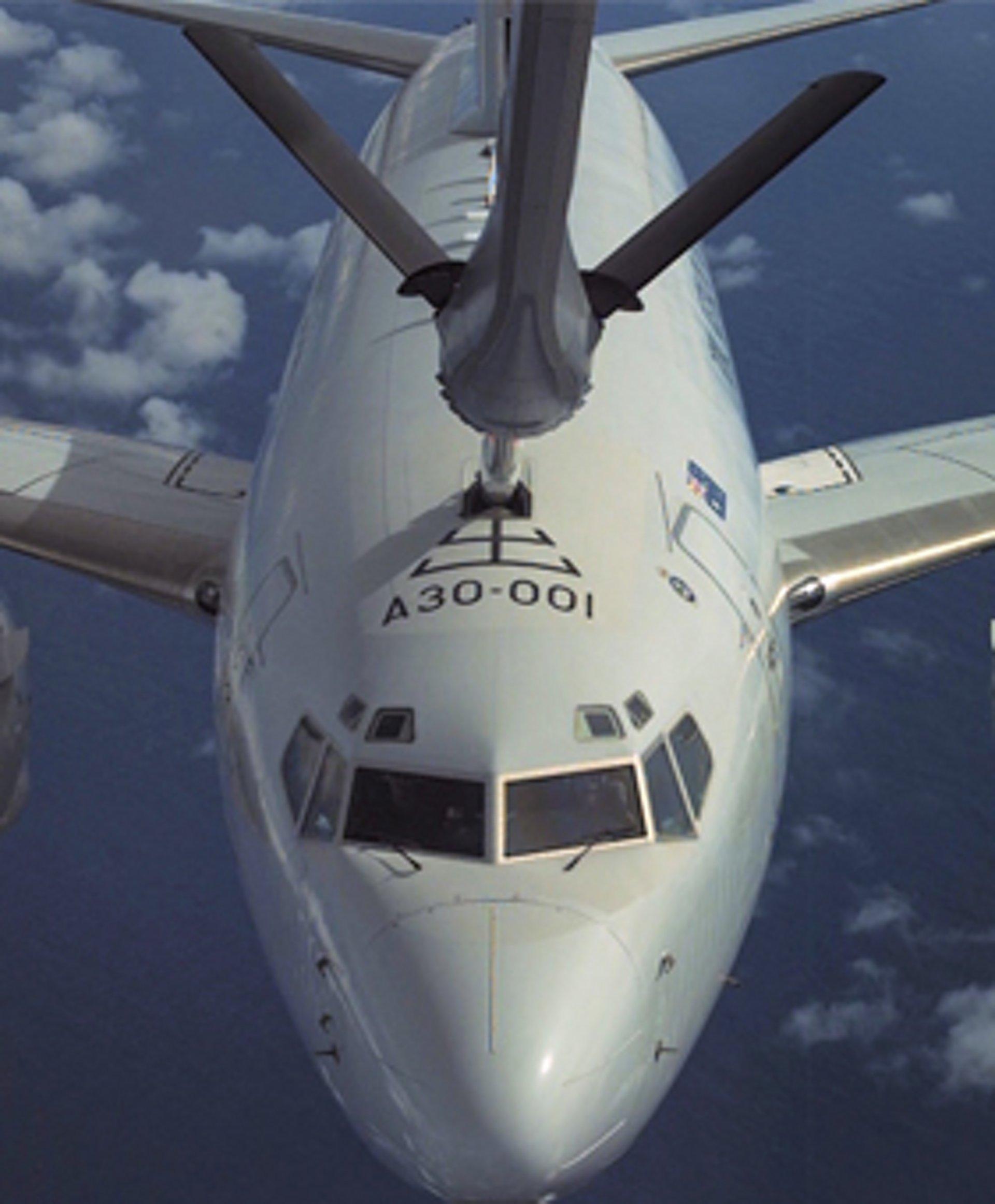 A330 MRTT refuelling