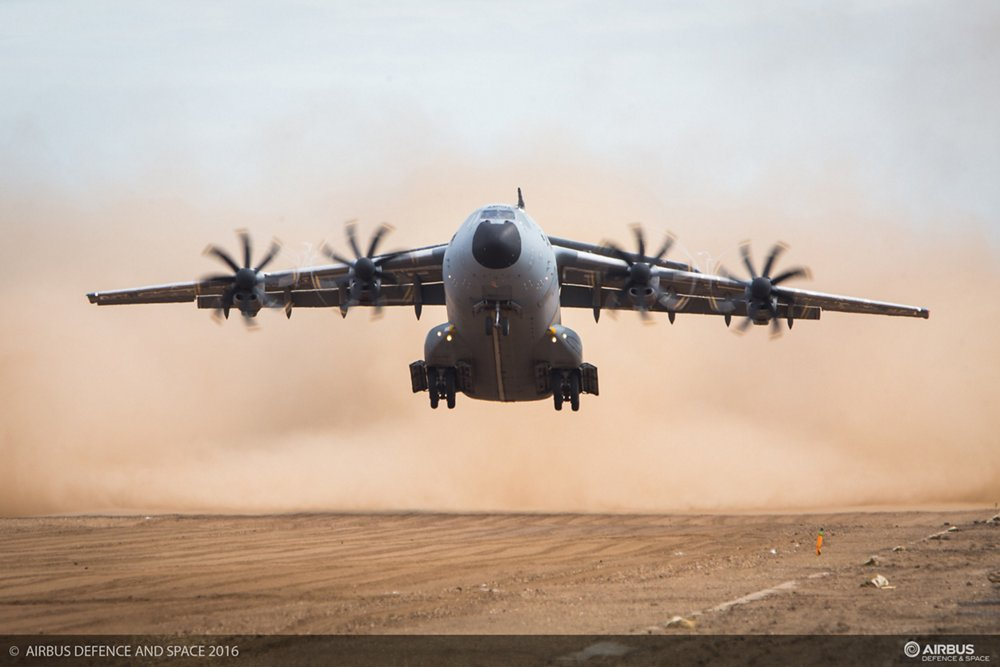 A400M Unpaved Runway Trials