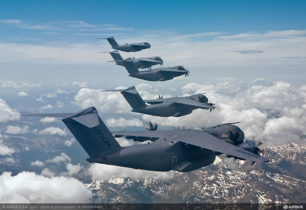 A400M Formation Flight