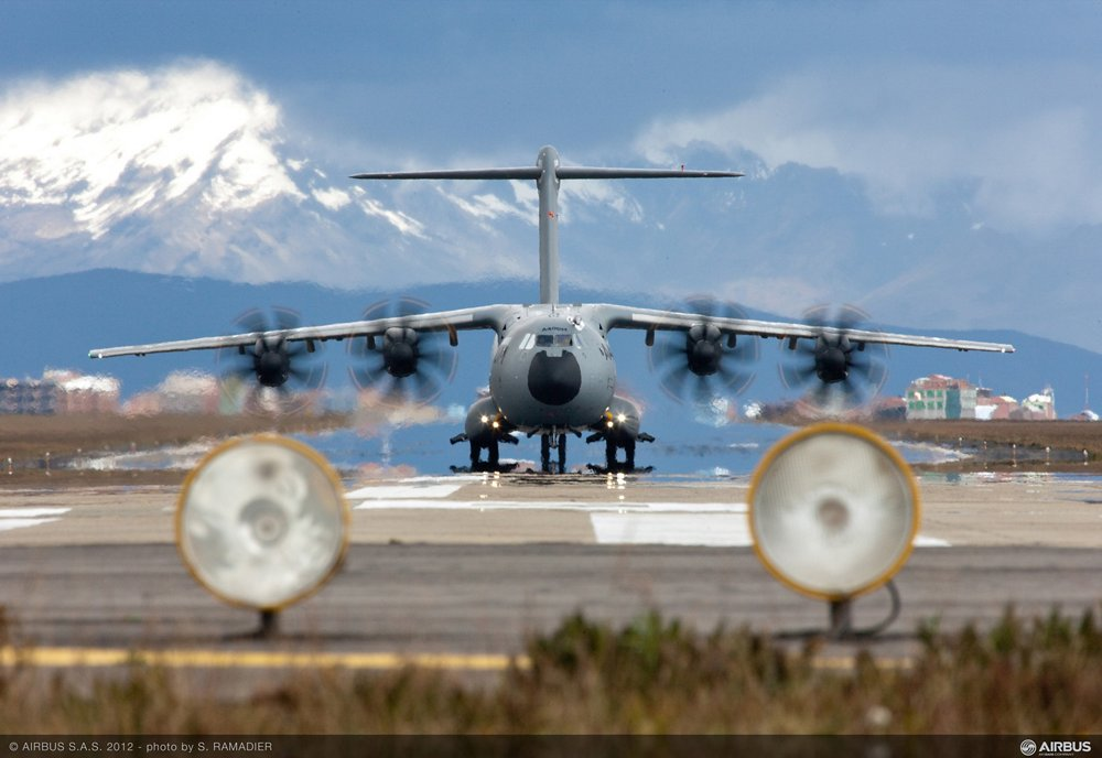 A400M High Altitude Test in La Paz, Bolivia