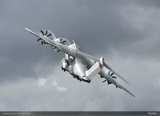 A400M at Farnborough Air Show
