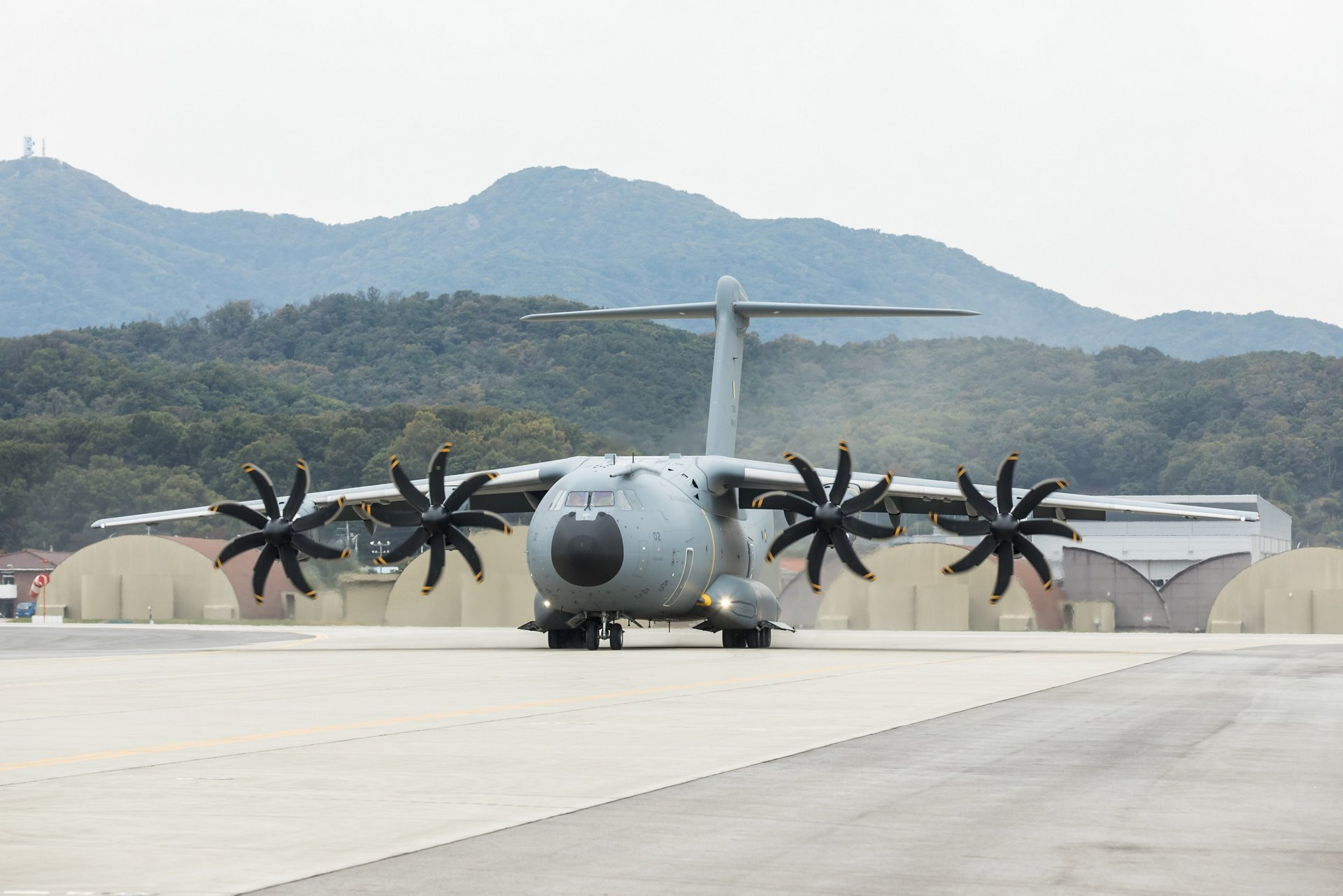 A400M on ground