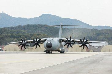 A400M on ground