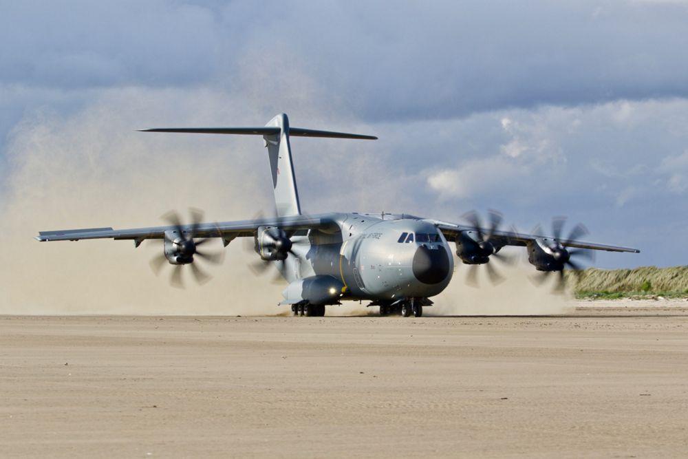 A400M Beach Operation