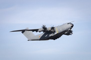 比利时的第一个A400M军用运输机提供