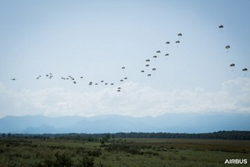 A400M Paratroopers