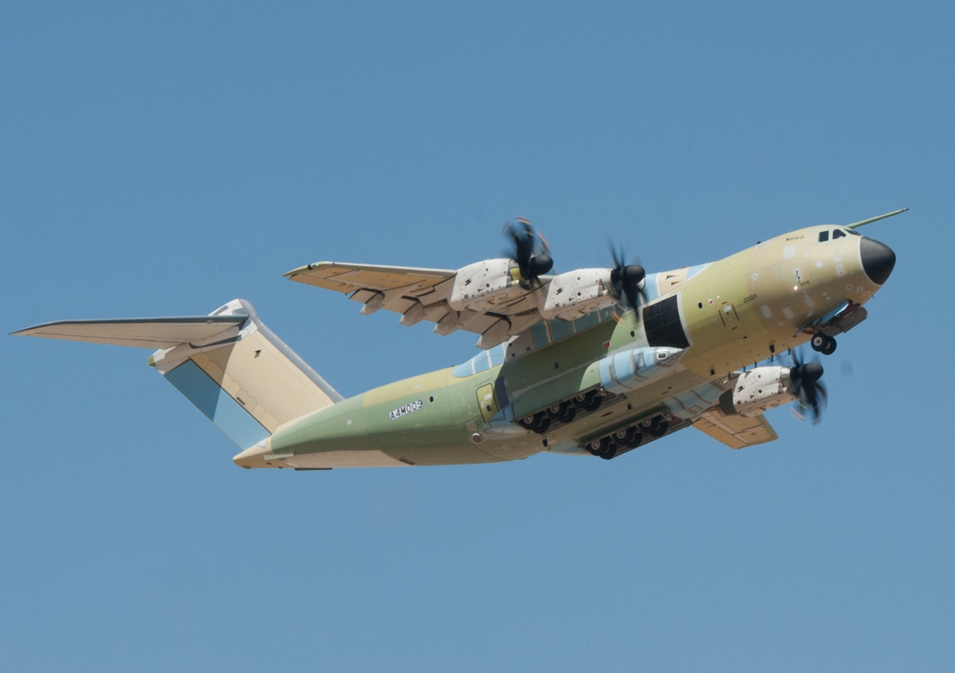 First A400M for the Turkish Air Force