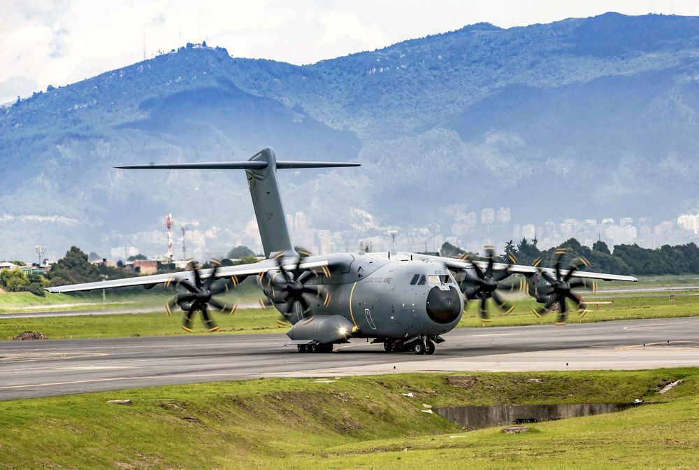 The first A400M in Colombia