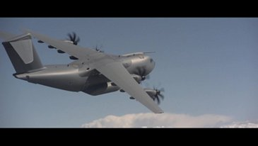 A400M in Action CLEAN