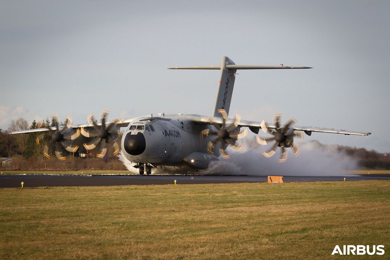 Looking back on 10,000 hours of A400M flight test