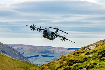 A400M Low Level Flights