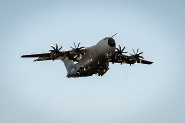 Luxembourg Armed Forces A400M makes its maiden flight