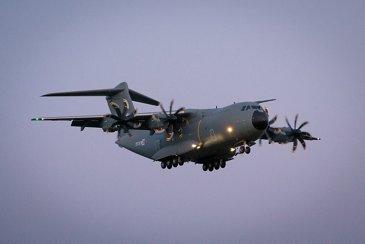 卢森堡武装部队A400M进行首次飞行