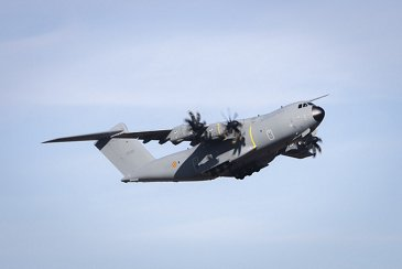 Belgium's first A400M military transport aircraft is delivered