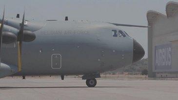 A400M MSN106比利时镜头