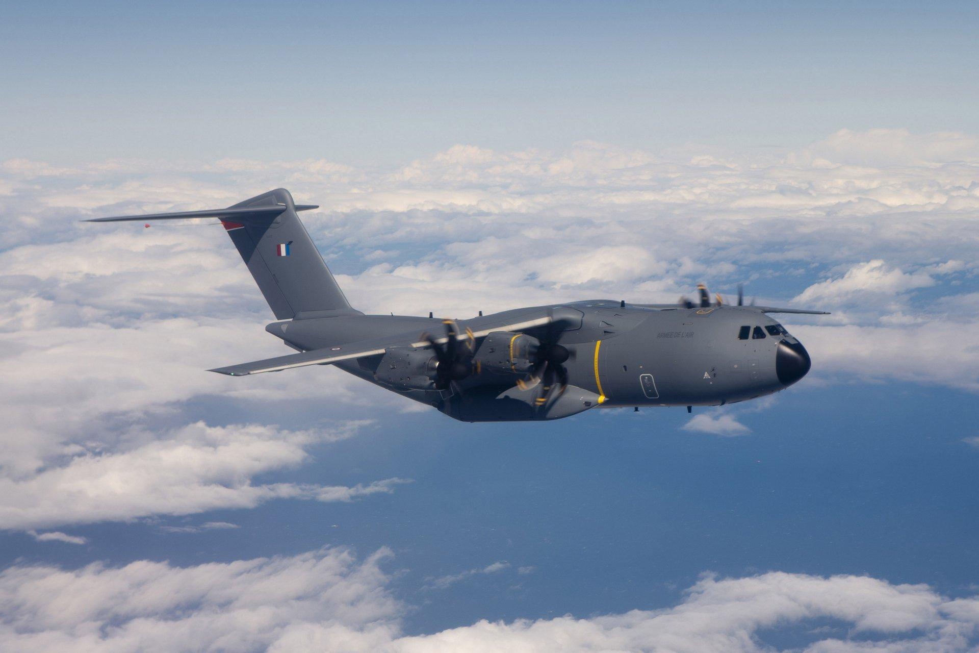 A400M MSN7 in flight