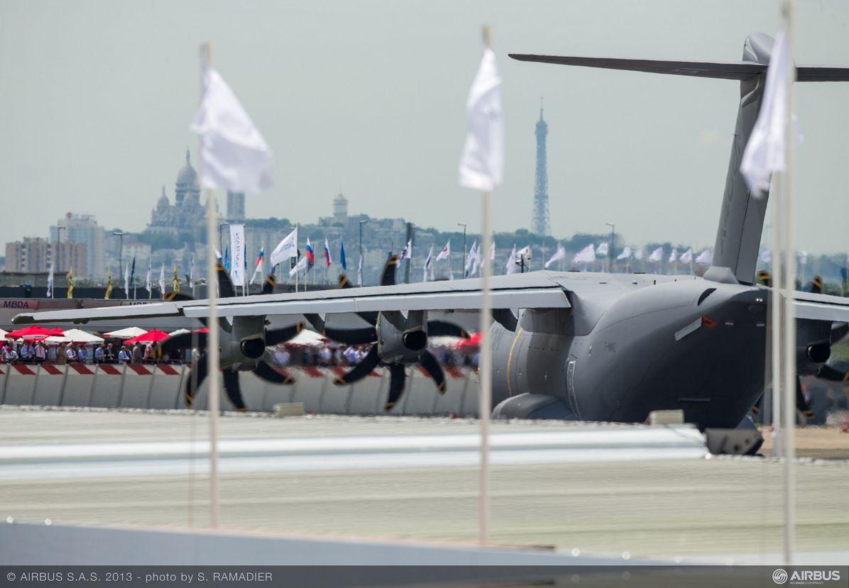 A400M flight demo Tuesday 1