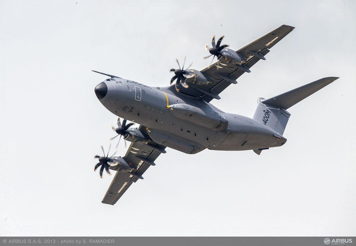 A400M flight demo Tuesday 3