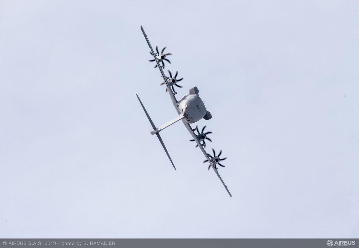 A400M flight demo Tuesday 4