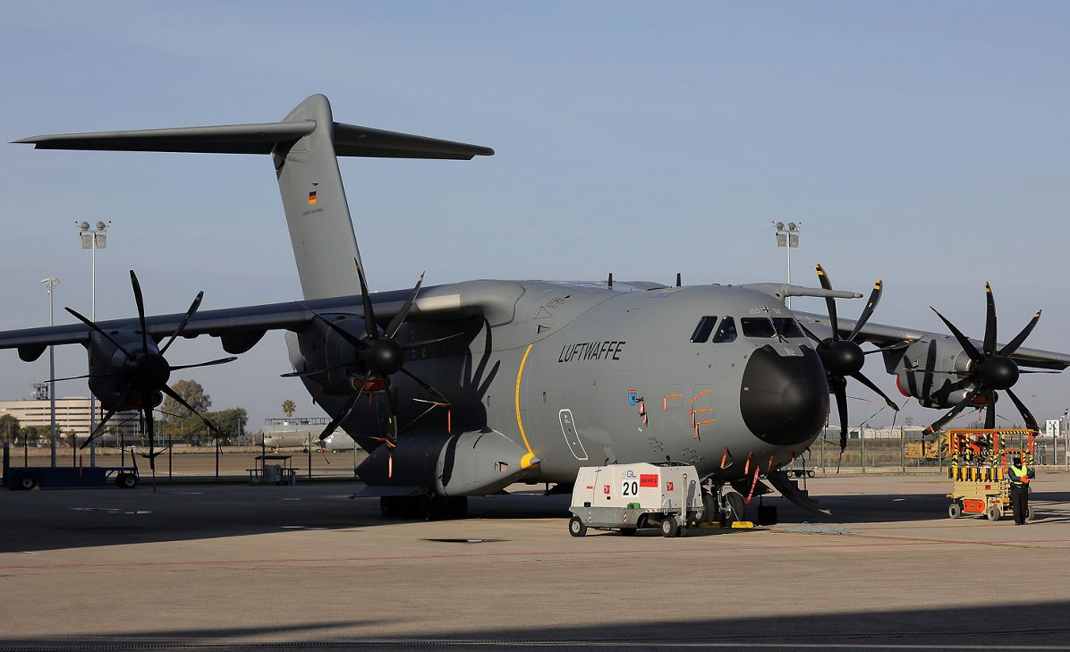 A400 delivery to German Air Force - MSN64