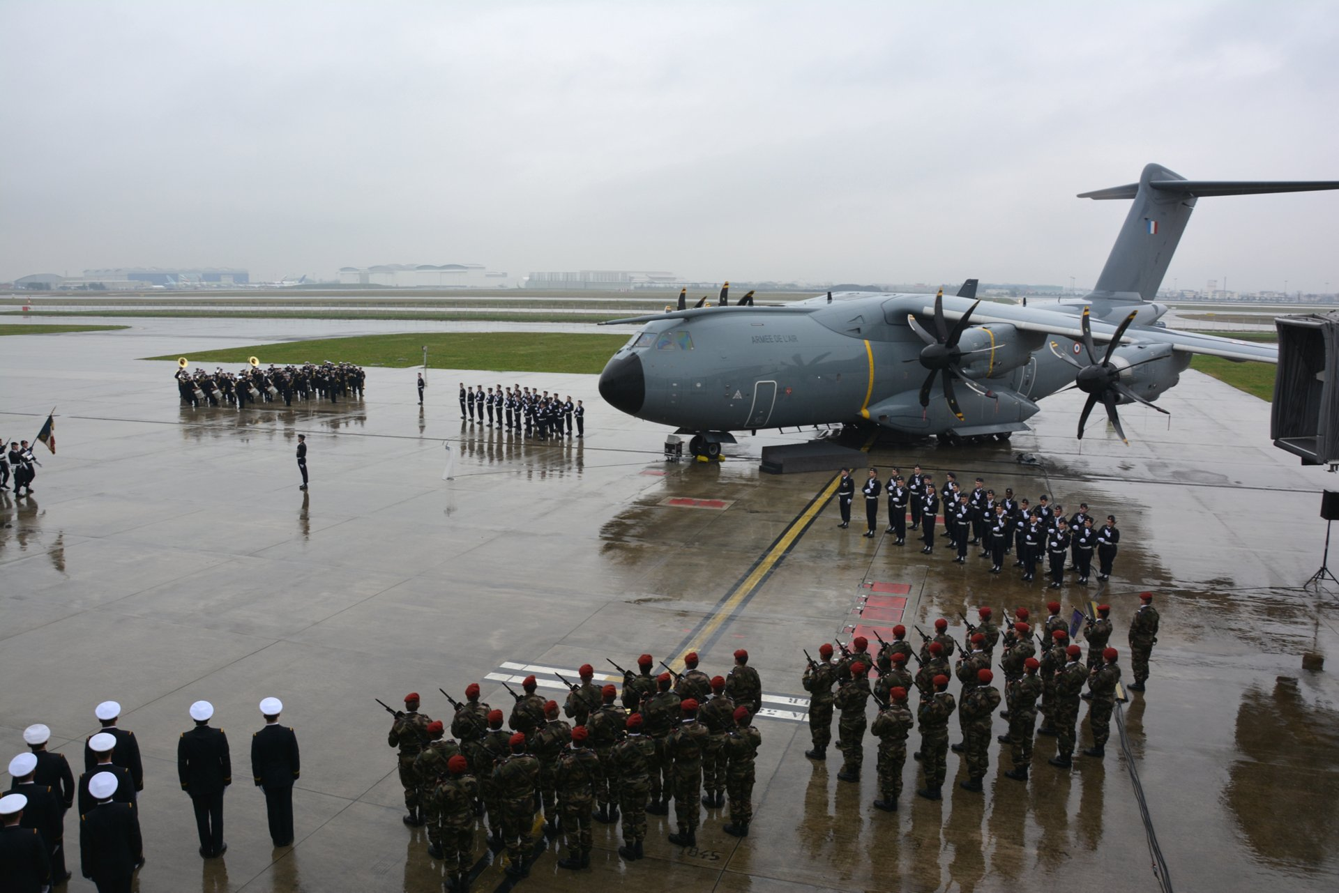 Second A400M of French Air Force
