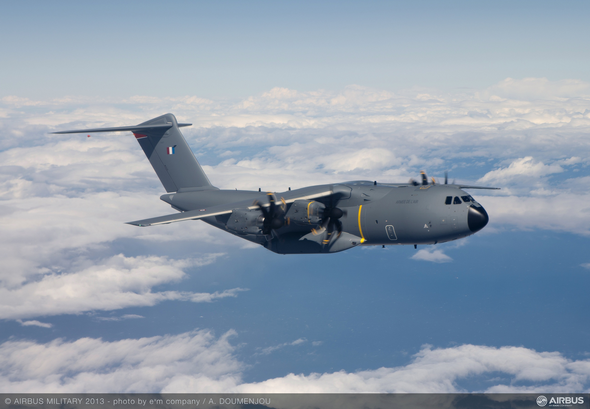 A400M MSN007 French Air Force First Flight