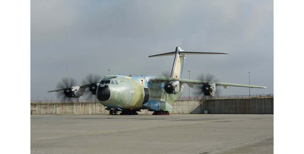 Final tests for the first A400M for the German Air Force