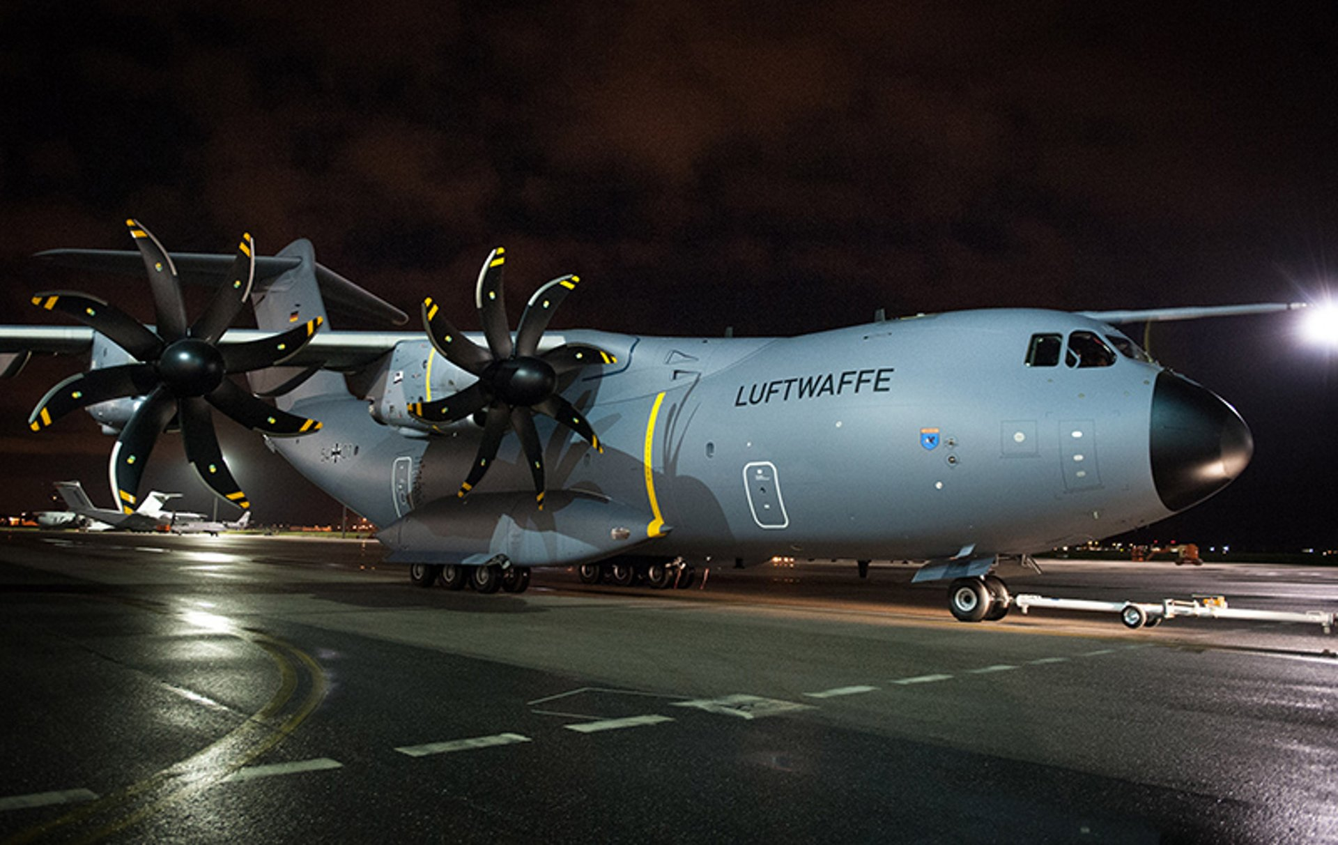 First  A400M for the German Air Force  painted in its new colours