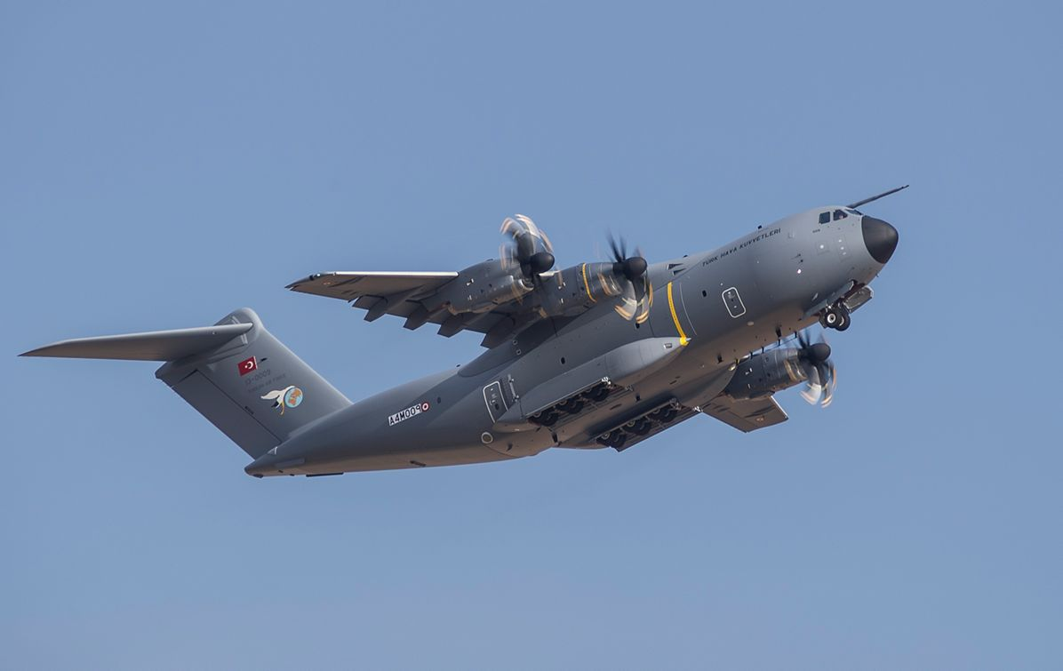 A400M new generation airlifter of the Turkish Air Force