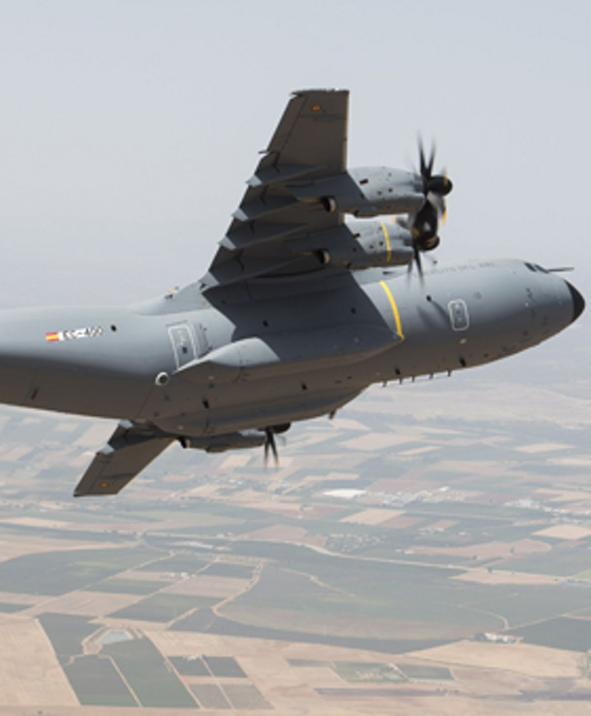 Maiden flight of the first Spanish Air Force A400M