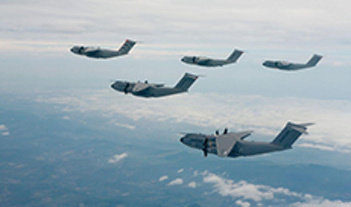 A400M formation flight