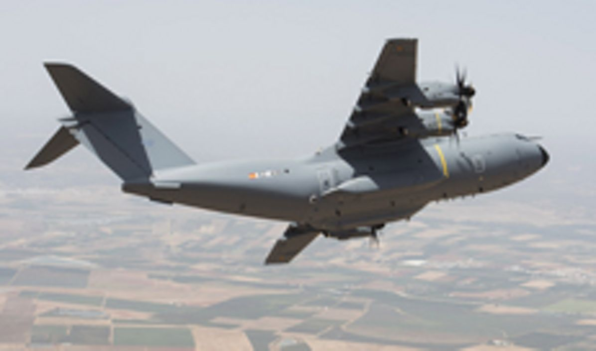First Airbus A400M for Spanish Air Force
