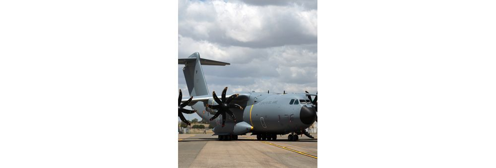 First Airbus A400M for Spain after painting