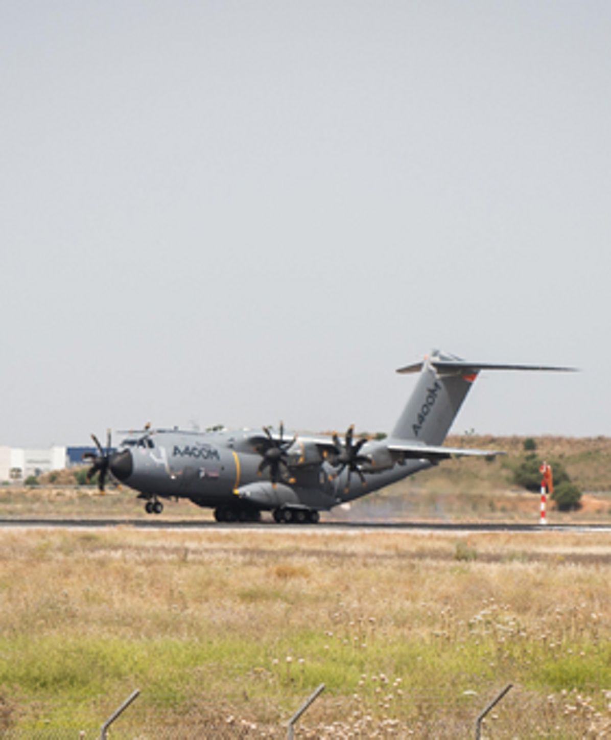 A400M MSN4 lands in Seville / 12th May 2015