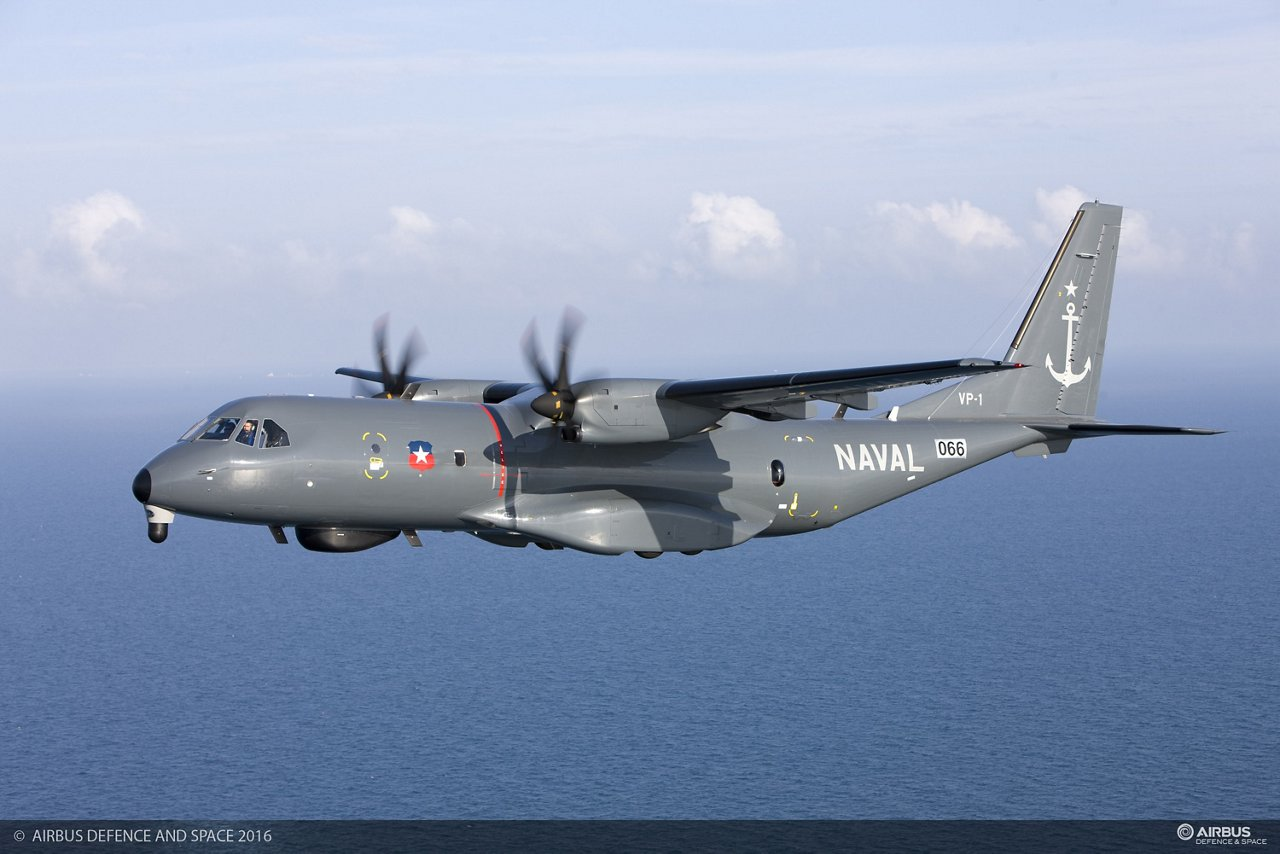 C295 MPA Chilean Air Force in Flight
