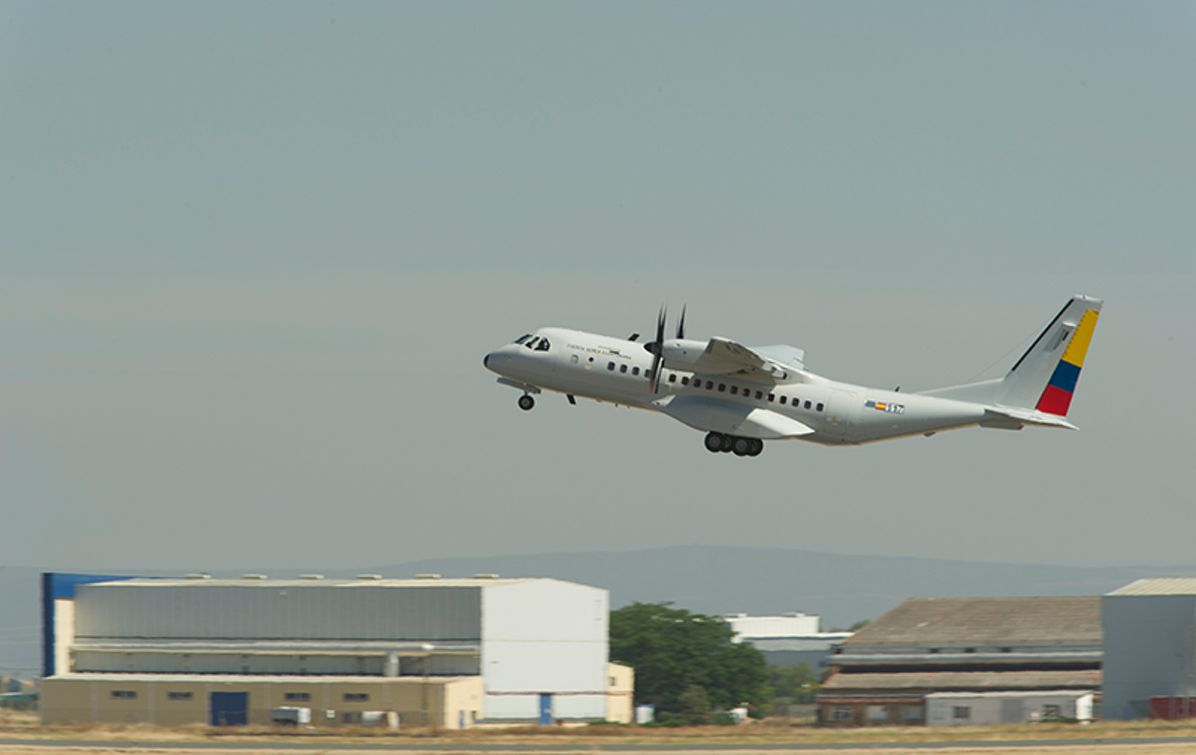 First  Airbus C295 delivery to Ecuador