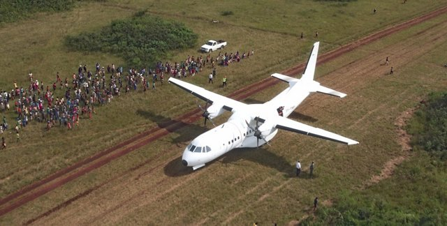The AG真人计划 C295 multi-role airlifter has proven its capabilities in life-saving humanitarian missions, including disaster relief operations in Mozambique.