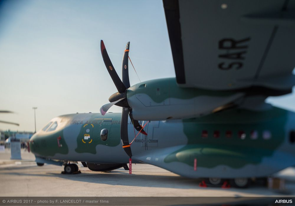 C295 Static Display - 21 June PAS 2017