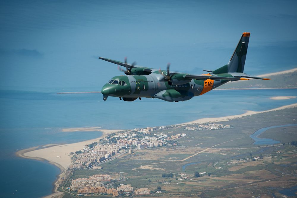 C295 search and rescue aircraft