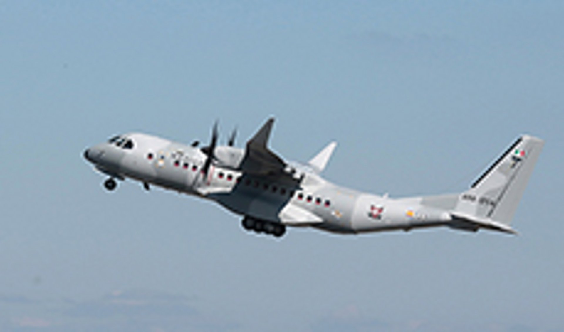 Airbus C295W in Mexico