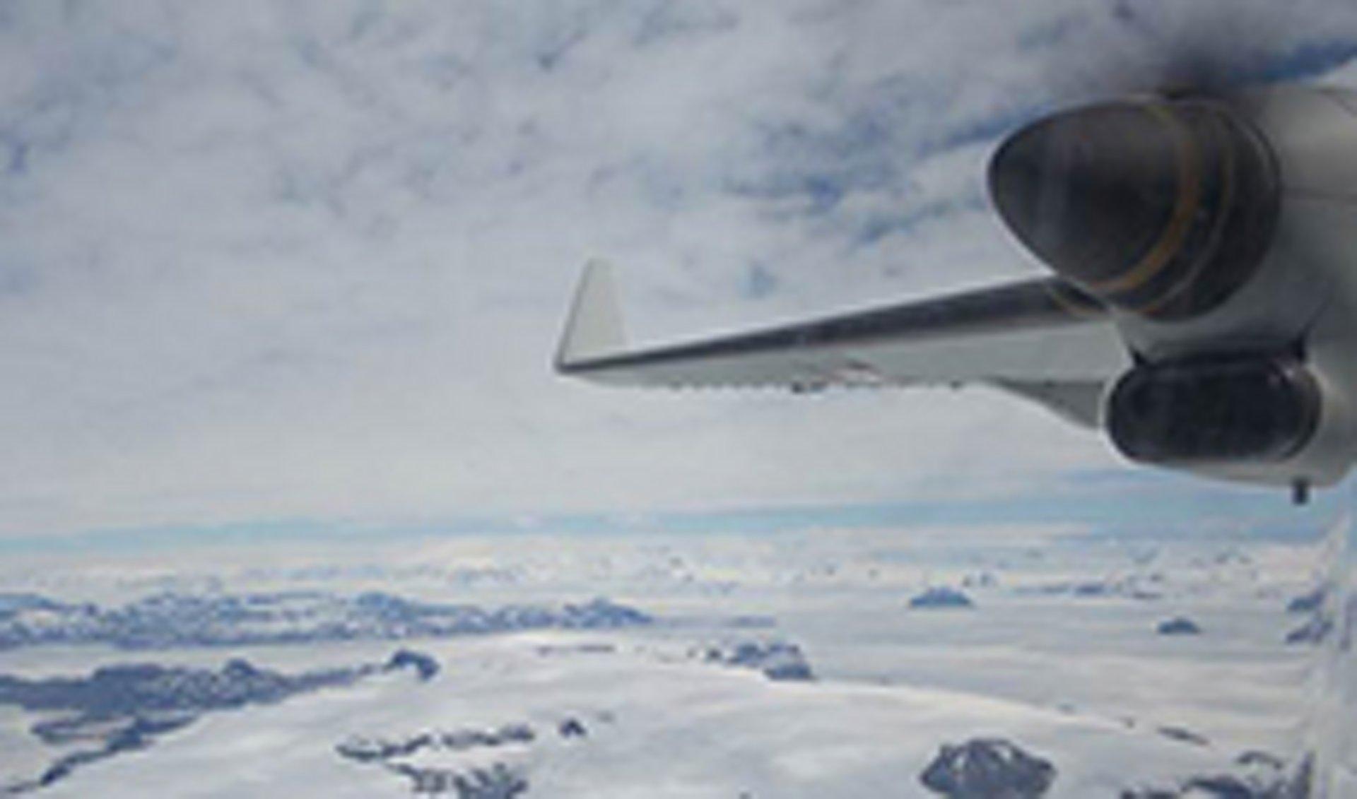 Airbus C295W in Antartica
