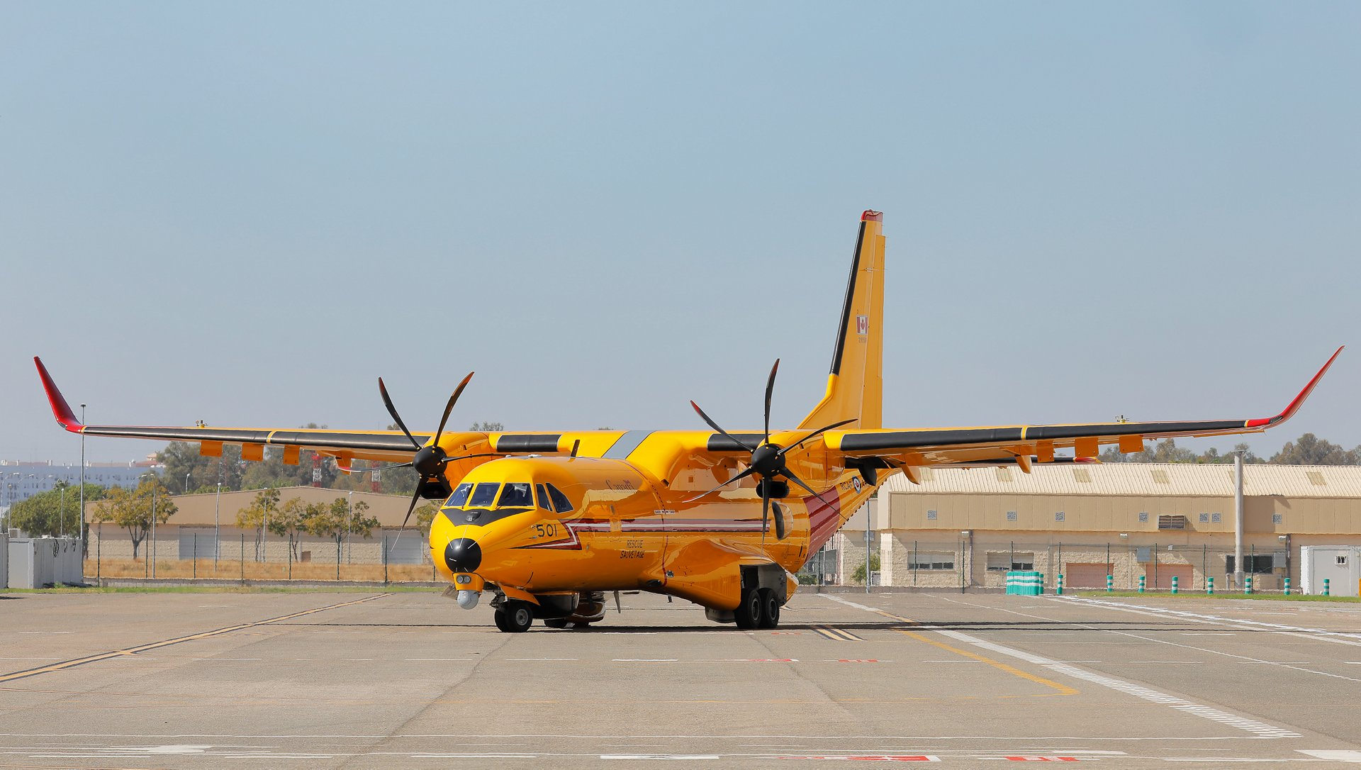 First Royal Canadian Air Force C295 shows off its final livery