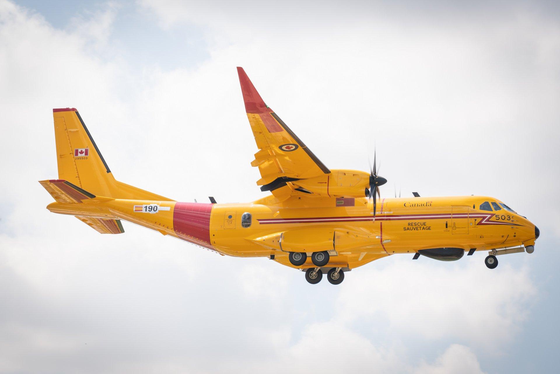 C295 FWSAR in flight